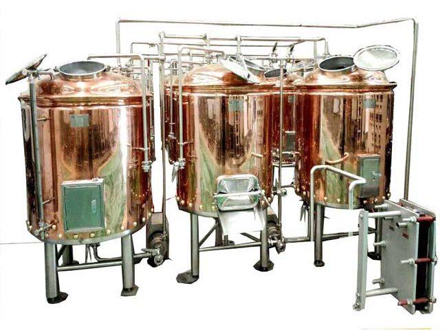 1000L Copper Brewery