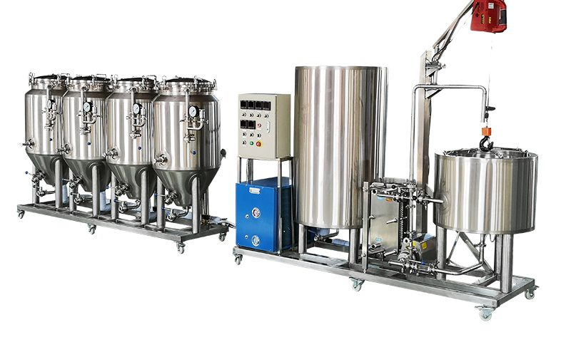 100L 1HL small beer brewery equipment