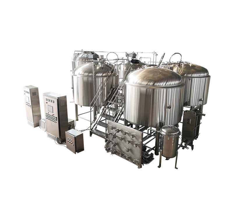 3000L Four Vessels Automatic Beer Brewing Equipment