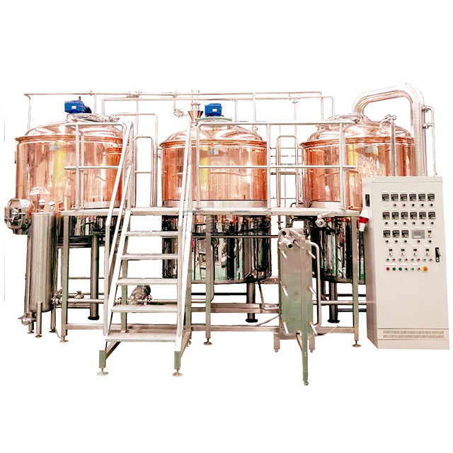 3000L Red Copper Brewhouse System