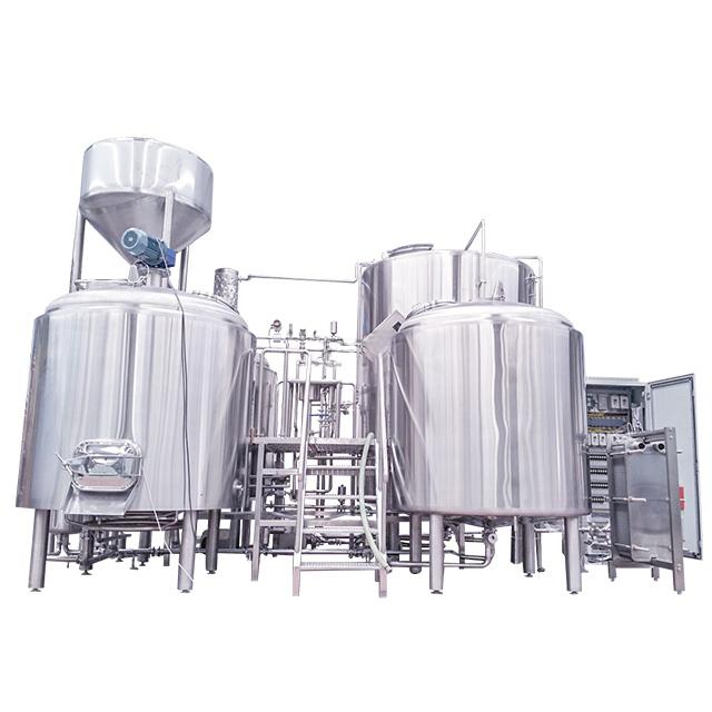 5000L Turnkey Brewery Equipment