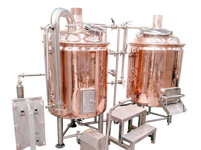600L copper brewery equipment