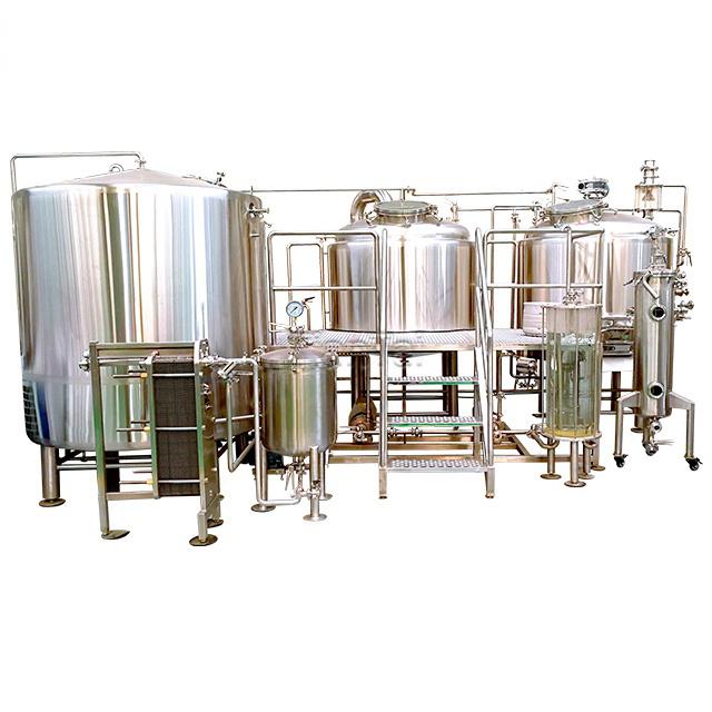 Stainless Steel Beer Brewing Equipment