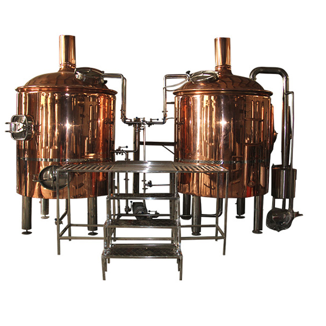 Copper brewing equipment