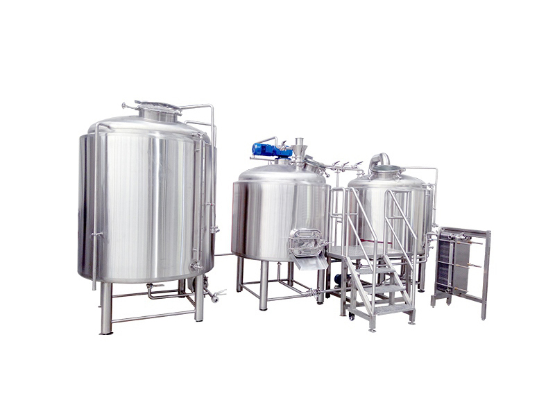2000L commercial beer brewery equipment