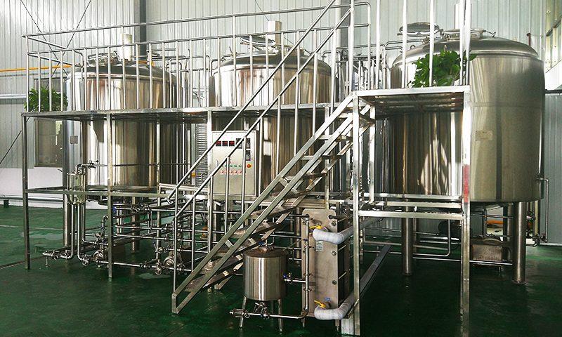 Beer Preparation Making Process
