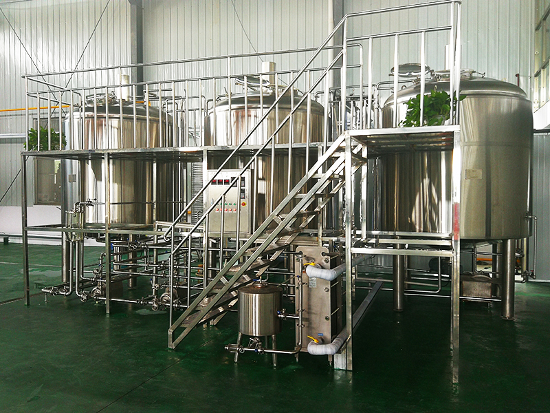 Beer Preparation Making Process