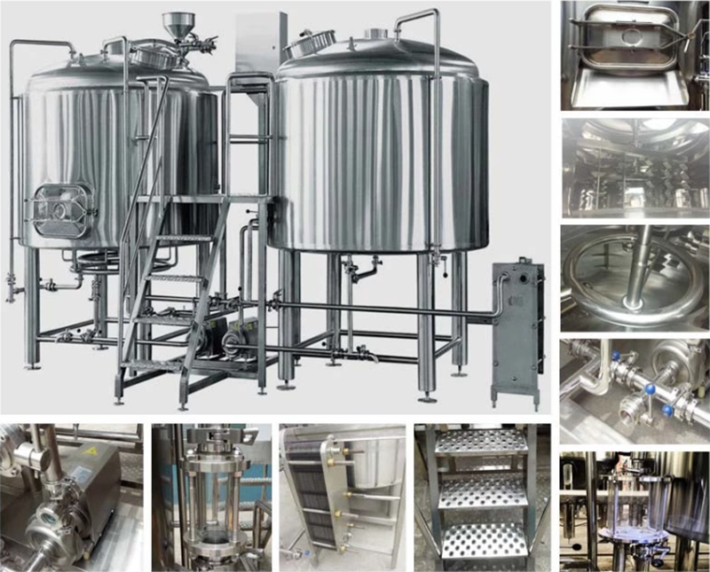 1200L craft beer brewery equipment