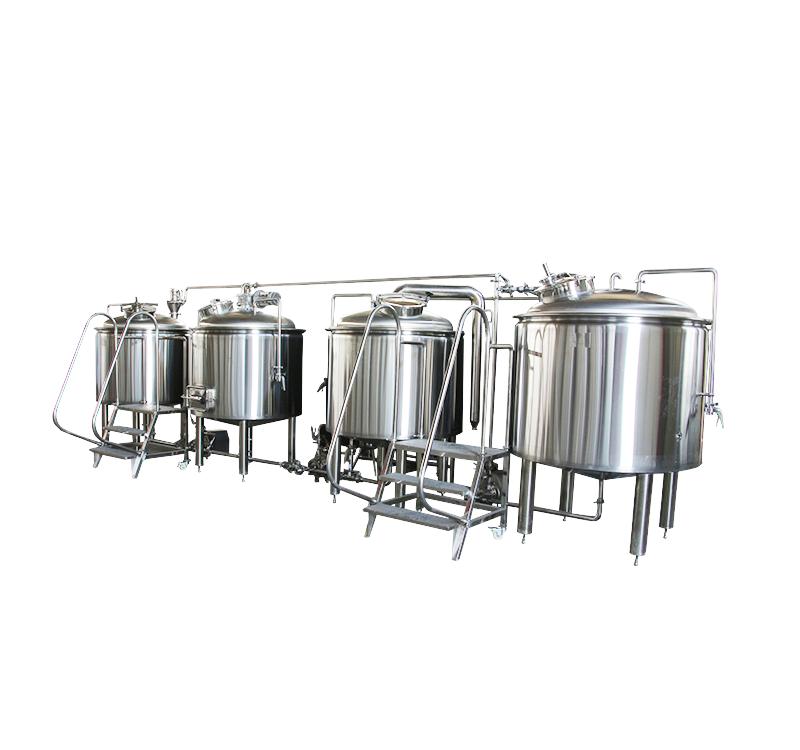 Beer brewery plant